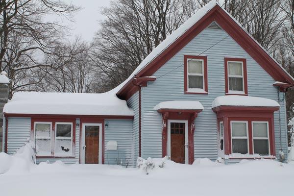 10 Mann Street in the Snow