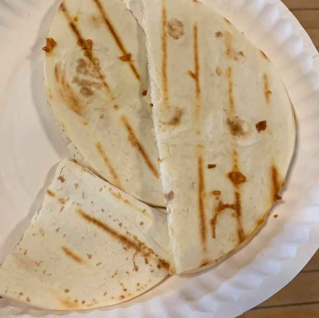 Make your own quesadilla